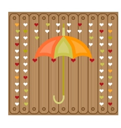 Picture of umbrella vector