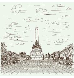 jose rizal vector image