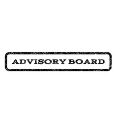 Advisory board watermark stamp vector