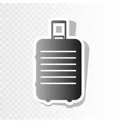 baggage sign new year vector image