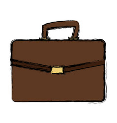 Business portfolio document file paper case vector