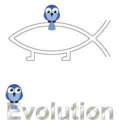 Evolution text vector