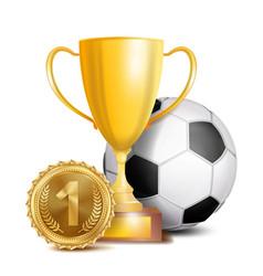 football award sport banner background vector image vector image