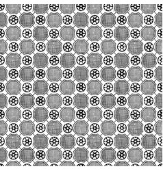 medieval seamless pattern vector image