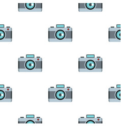 photo camera pattern flat vector image