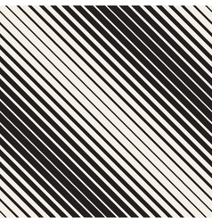 Seamless black and white halftone diagonal vector