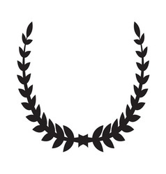 Laurel wreath icon2 vector