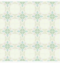 abstract geometric seamless pattern ornament vector image
