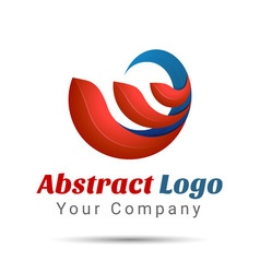 Abstract logo design template creative concept vector