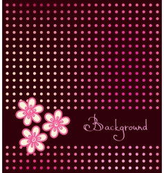 dark background vector image vector image