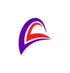 loop abstract logo vector image vector image