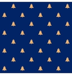 Seamless Pattern with Bell vector image vector image
