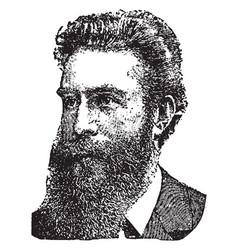 William roentgen vintage vector