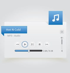 Music player 14 vector