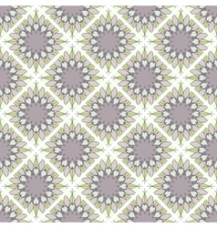 Seamless mosaic geometrical pattern background vector
