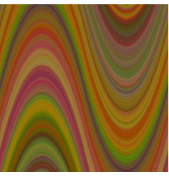 Colorfil wave background from thin wavy lines - vector