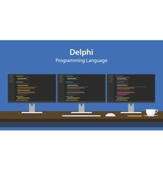Delphi programming language code vector