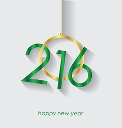 Happy New Year and Christmas background vector image
