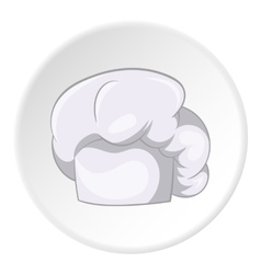 Hat chef icon cartoon style vector image vector image