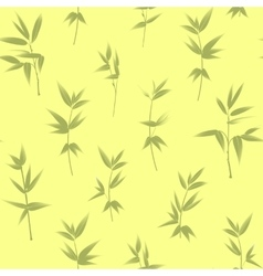 Seamless wallpaper of bamboo vector image