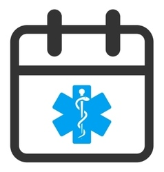 Health care day icon vector