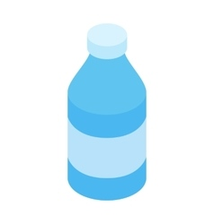 Bottle of water vector image