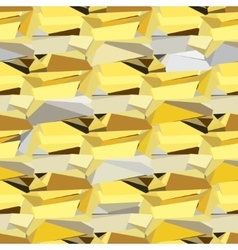 Golden abstract geometric background vector image vector image