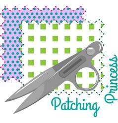 Patching princess vector