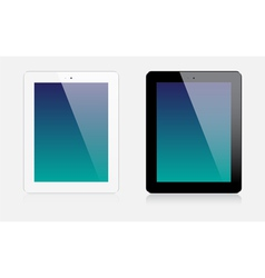 Realistic tablets vector image
