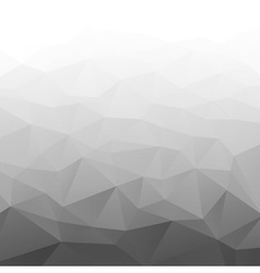 Abstract gradient gray geometric background vector