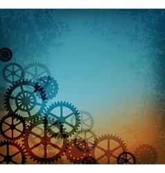 Abstract steampunk background vector