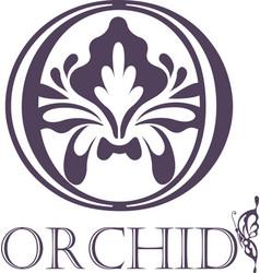 Flower background template lotus symbol logo vector
