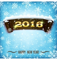 Happy New Year 2016 celebration background vector image vector image