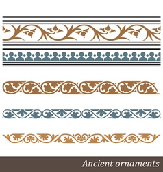 Old greek ornament vector