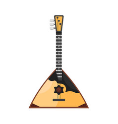 Flat style russian traditional musical instrument vector