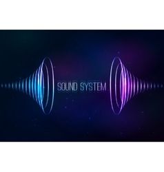 Sound cones at cosmic background vector