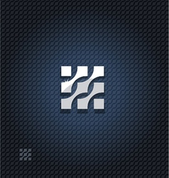 Abstract square vector image