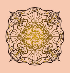 Mandala 12 vector