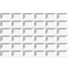 White tile texture seamless geometric background vector