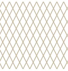 Rhombus on white background vector