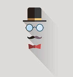 Gentlemen vintage man design element vector