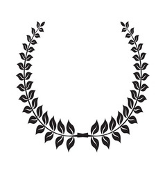 Laurel wreath icon4 vector