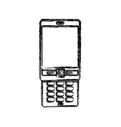 Cellphone mobile technology vector