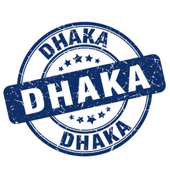 Dhaka stamp vector