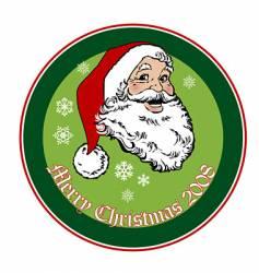 Santa 2008 vector image
