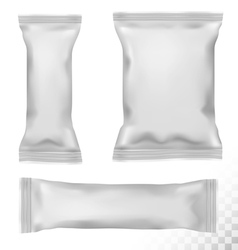 Polypropylene package on transparent background vector