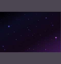 Space stars background of the vector