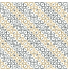 Seamless diagonal pattern with art ornament vector