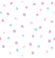 different colors dots background vector image vector image