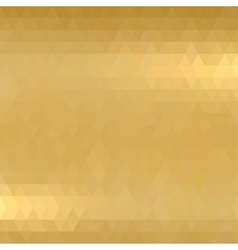 Gold metallic background vector